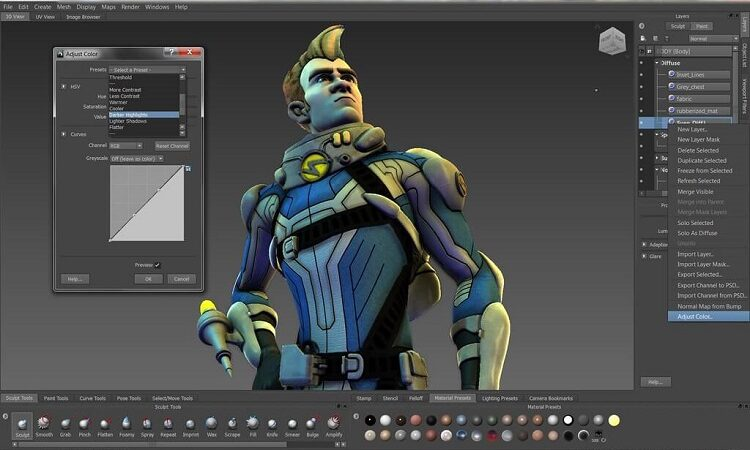 List of Best Free and Paid programs used in 3D Animation